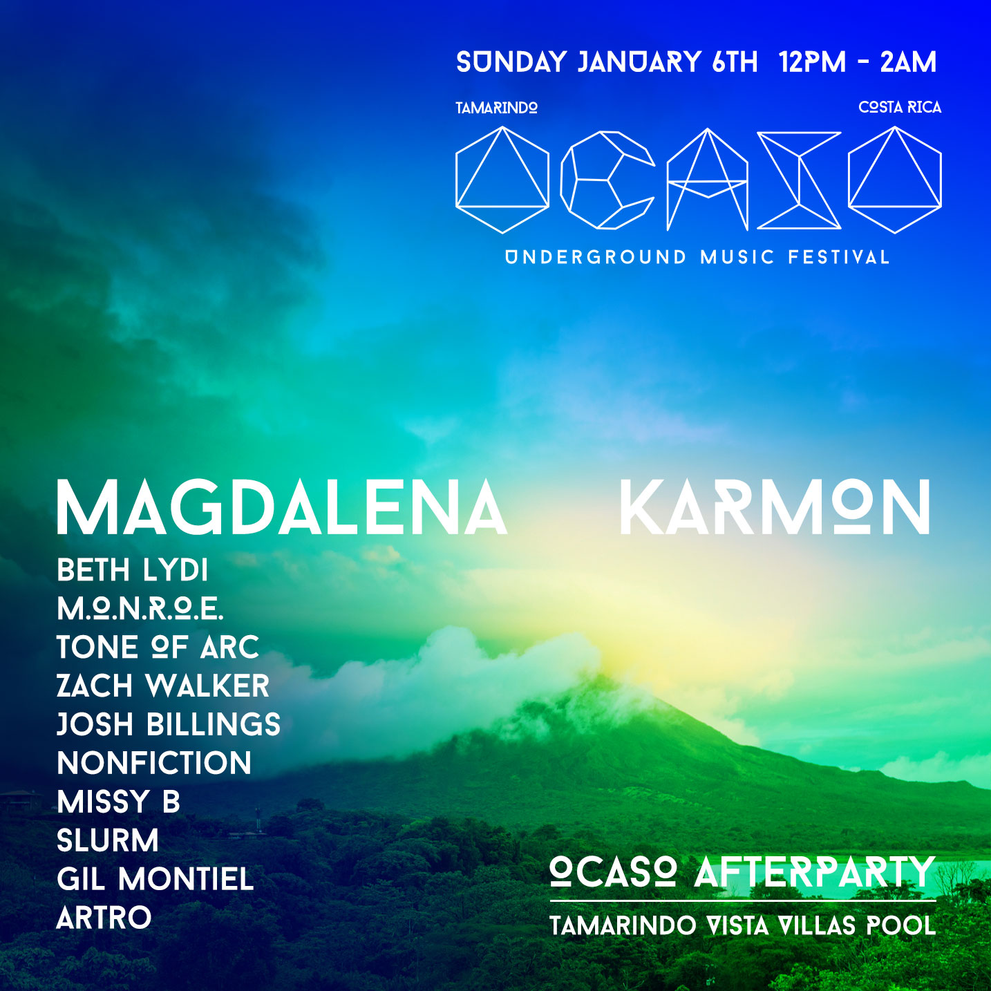 Sunday Ocaso Underground Music Festival 2019 AfterParty
